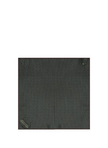 Corneliani Corneliani   Mikro Desenli İpek Poşet Mendil 101624730 Renkli